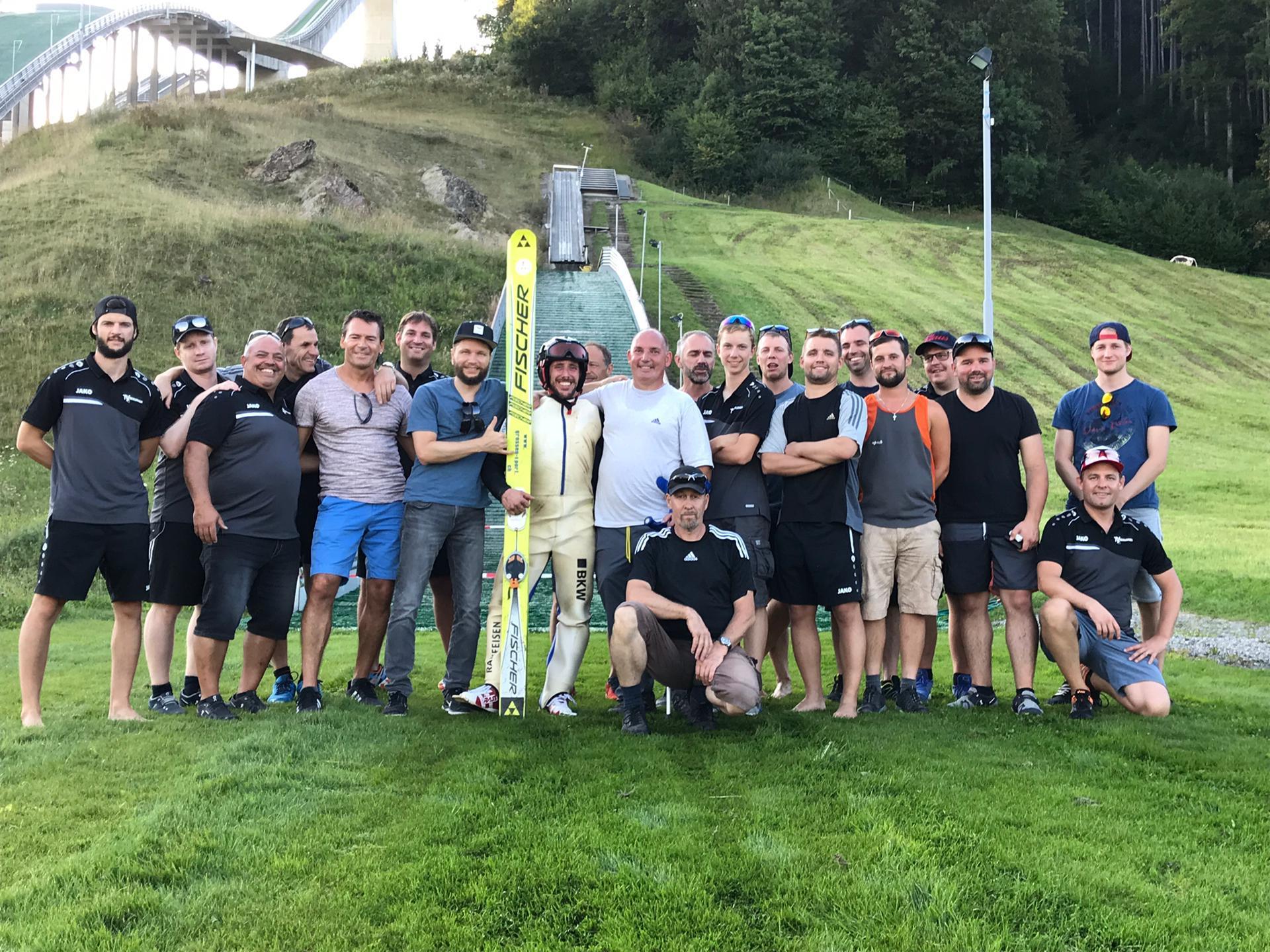 TV Oberurnen auf sportlicher Mission in die Innerschweiz